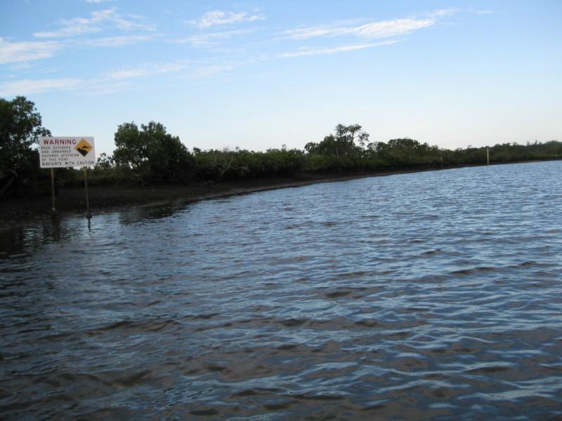 Boating Up Bundabah And Bulga Creeks North Arm Cove