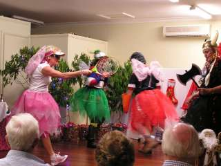 Fairies on stage