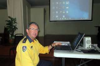 Ian Cook RFS at the Cove Hall