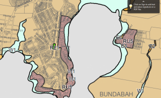 Proposed zoning of Cove waters