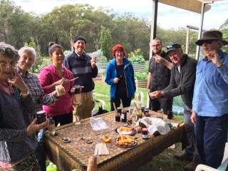 Garden members tasting