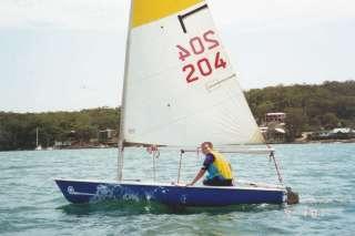 Spiral sailing dinghy