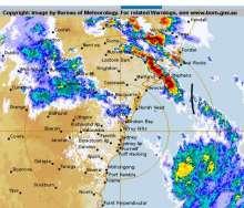 Storm over Port Stephens