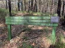 Aboriginal Site behind Promontory Way